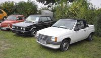Opel Corsa Cabrio, Golf Cabrio, Fiat 500