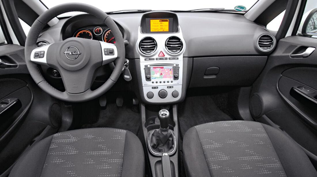 Opel Corsa, Cockpit