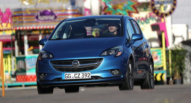 Opel Corsa, Exterieur Front