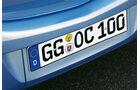 Opel Corsa, Nummernschild,integrierte Fahrradträger
