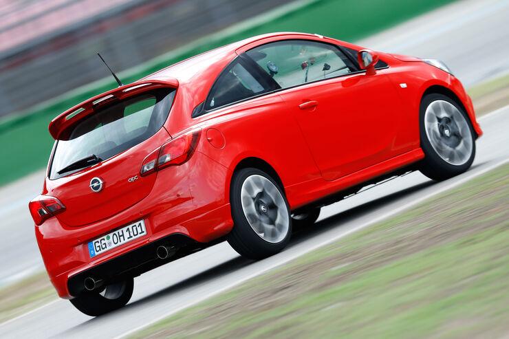 opel corsa 1.6 turbo opc supertest - auto motor und sport