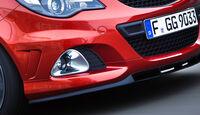 Opel Corsa OPC Nürburgring Edition, Frontspoiler