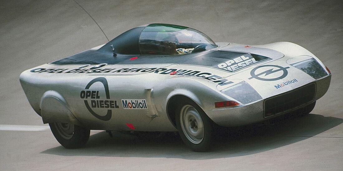 Opel Diesel Rekordwagen