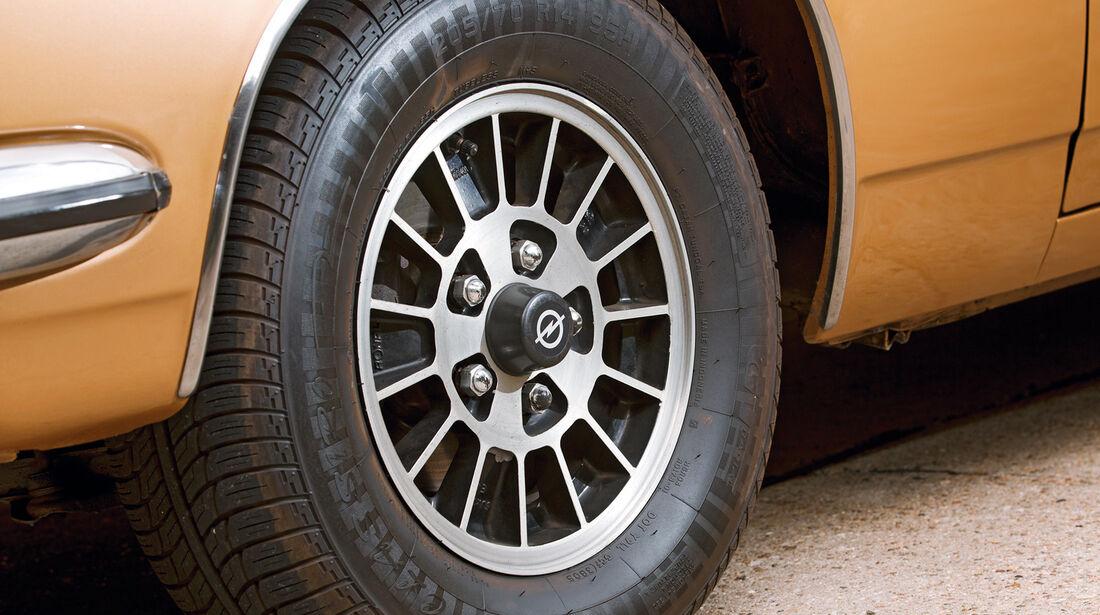 Opel Diplomat, Rad, Felge