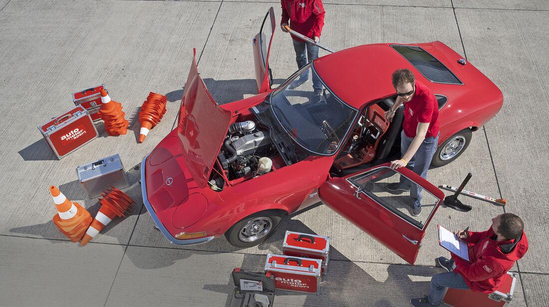 Opel GT 1900, Exterieur
