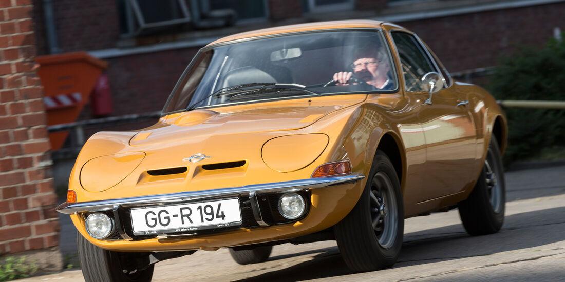 Opel GT 1900, Frontansicht