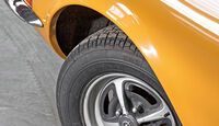 Opel GT 1900, Rad, Felge
