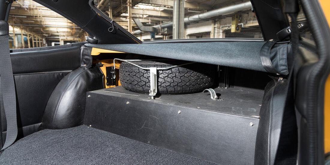 Opel GT, Ersatzrad