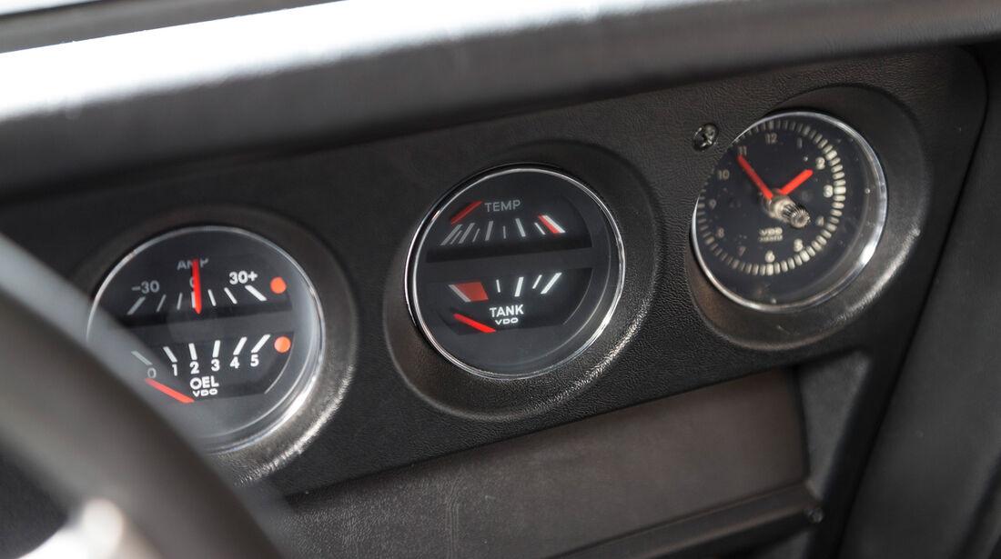 Opel GT, Rundinstrumente
