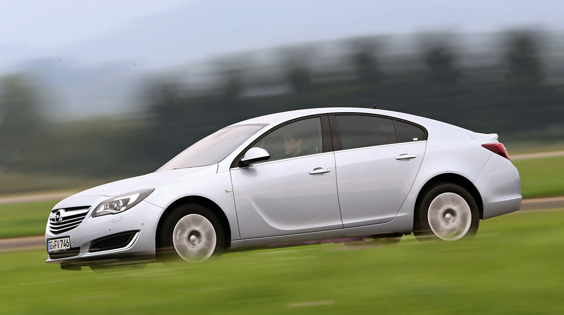 Opel Insignia 2.0 CDTi, Seitenansicht