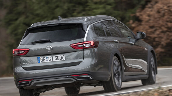 Opel Insignia Country Tourer 2.0 DI Turbo 4x4, Exterieur