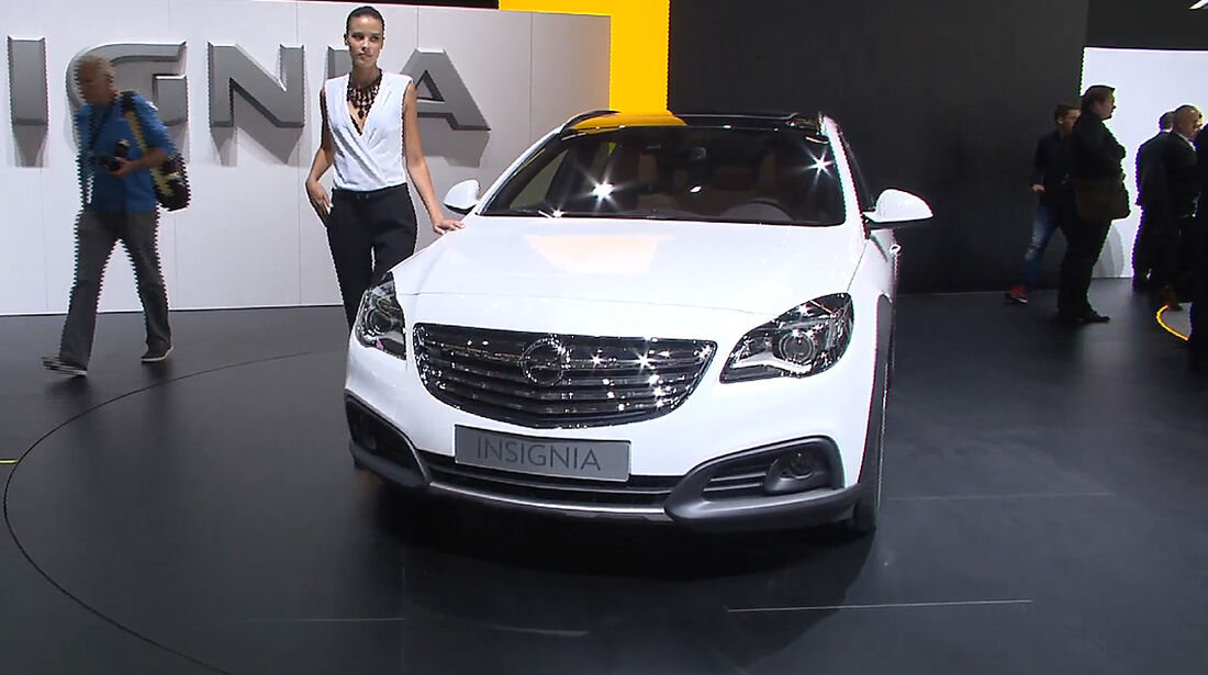 Opel Insignia Country Tourer, IAA