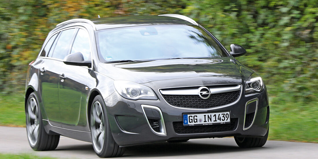 Opel Insignia OPC Sports Tourer Unlimited, Frontansicht