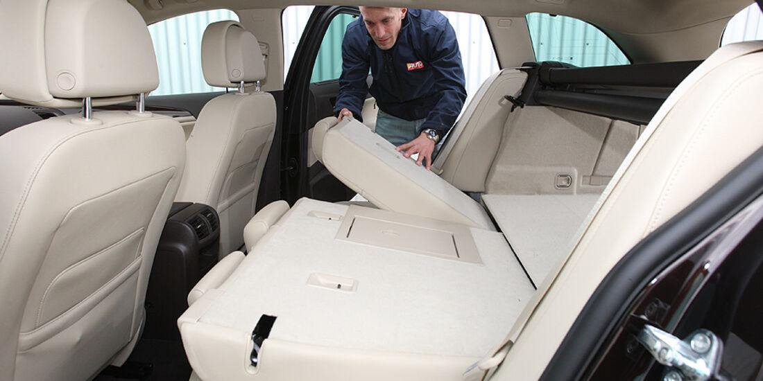 Opel Insignia, Sitze hinten