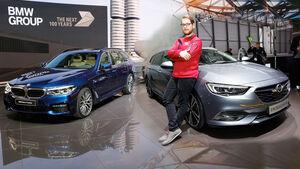 Opel Insignia Sports Tourer BMW 5er Touring Vergleich Genf 2017