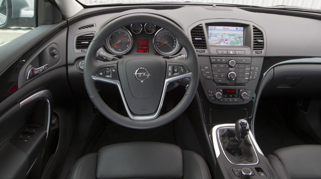 Opel Insignia Sports Tourer, Cockpit