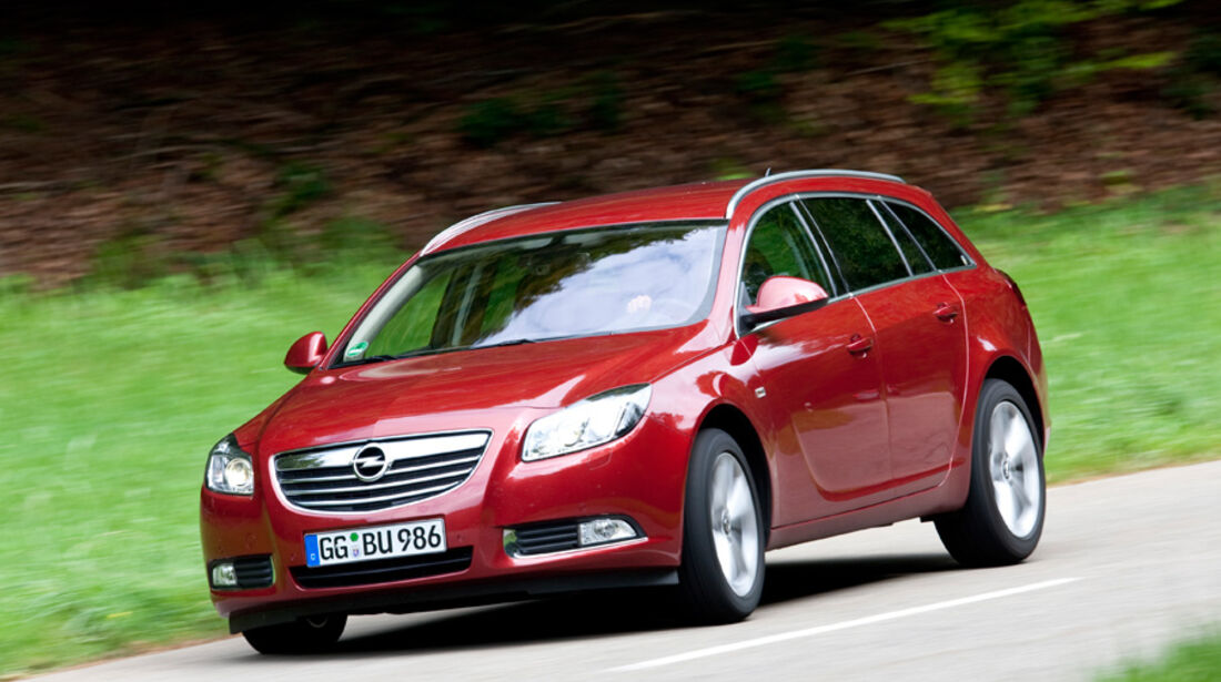 Opel Insignia Sports Tourer, Front