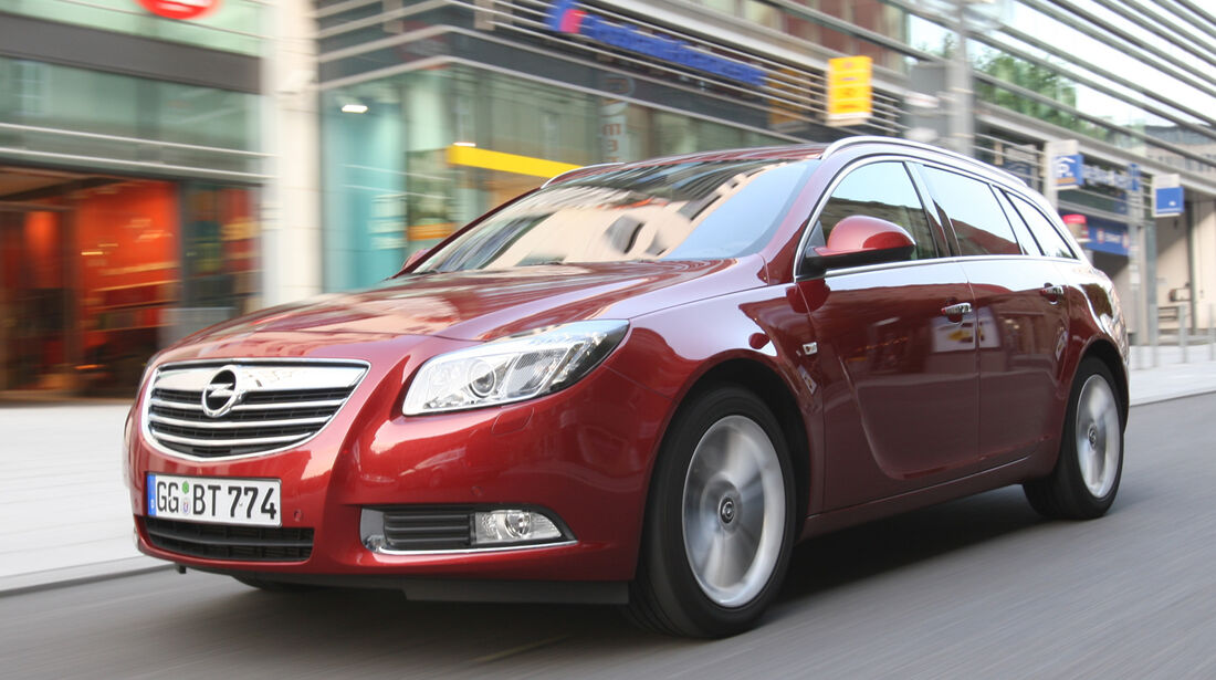 Opel Insignia Sports Tourer, Frontansicht