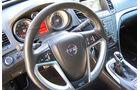 Opel Insignia Sports Tourer OPC, Lenkrad, Rundinstrumente