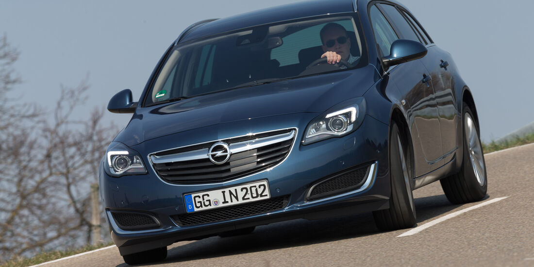 Opel Insignia Sports Tourer S.T. 2.0 CDTI, Frontansicht