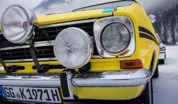 Opel Kadett B Coupé Rallye, Frontscheinwerfer