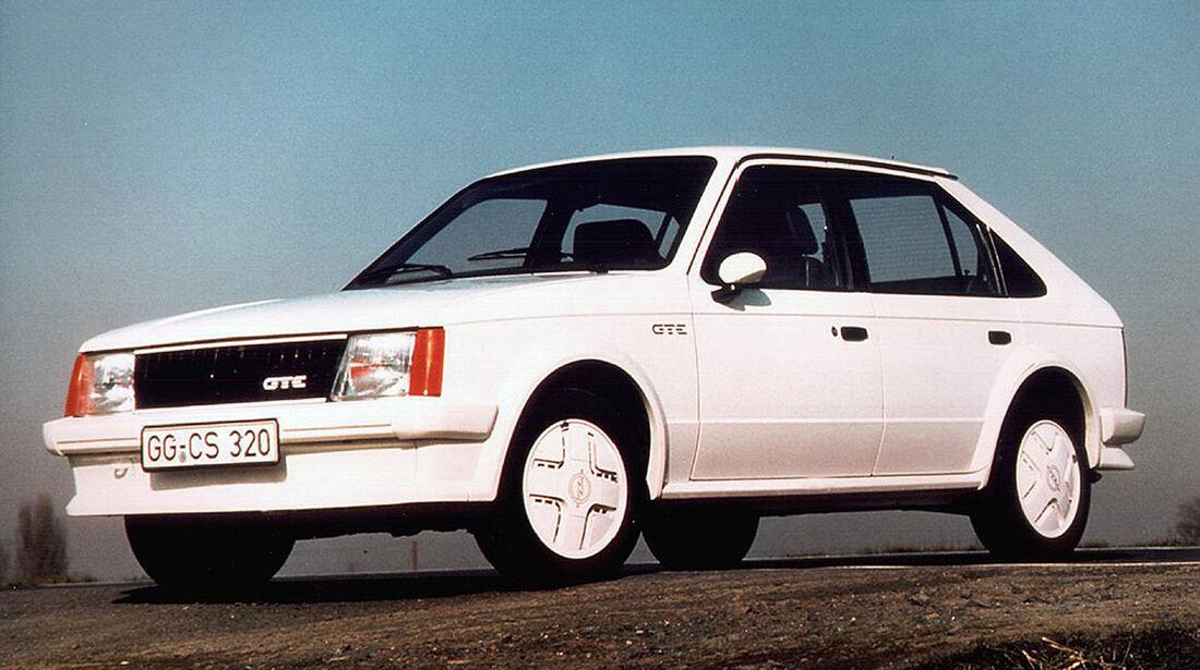 Opel Kadett D GTE, 1983-1984