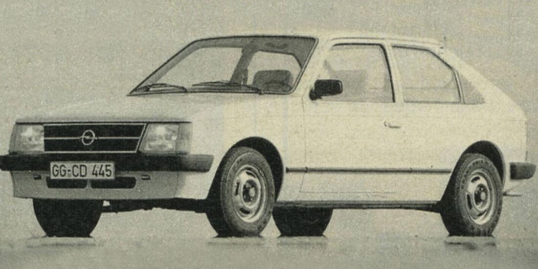Opel, Kadett, IAA 1981