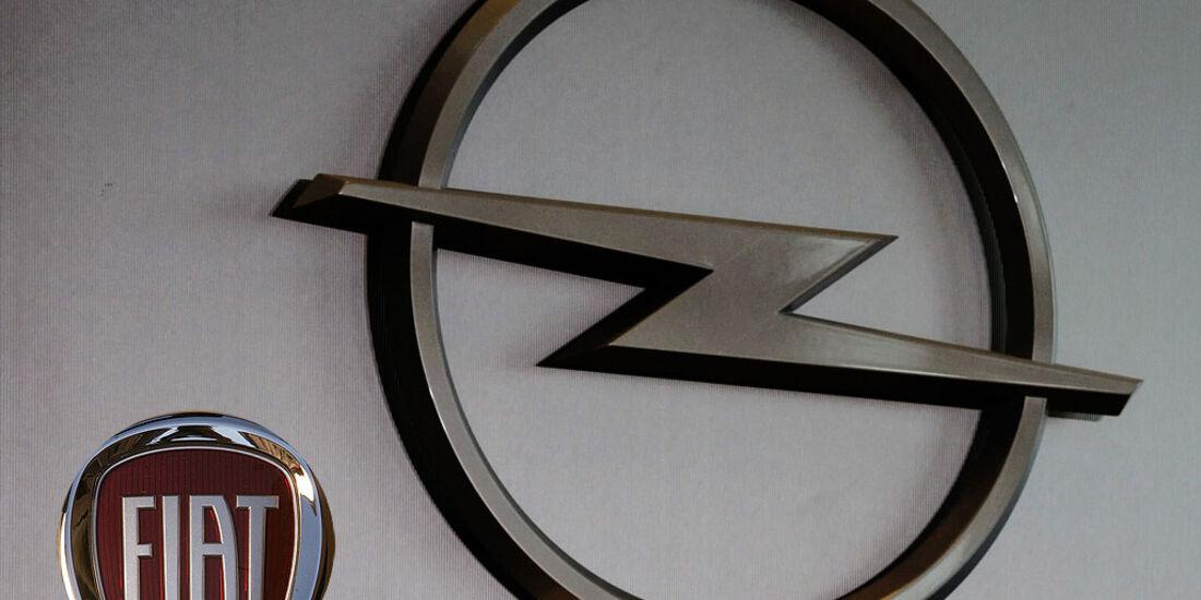 Opel Logo mit Fiat