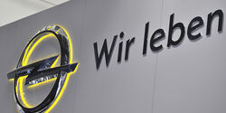Opel Logo wir leben