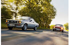 Opel Manta A, Ford Capri Serie 1, Frontansicht