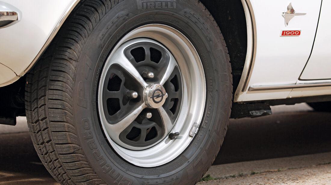 Opel Manta, Rad, Felge
