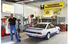 Opel Manta i200, Steffen Exner, Werkstatt