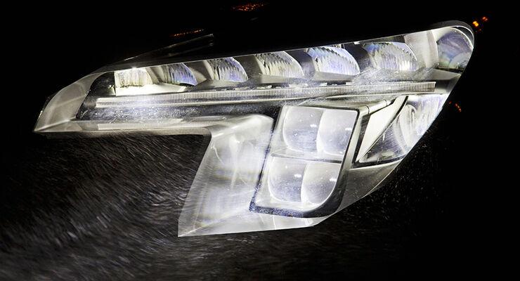 Opel Matrix Licht, Scheinwerfer
