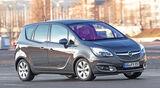 Opel Meriva 1.4 ecoFlex, Frontansicht