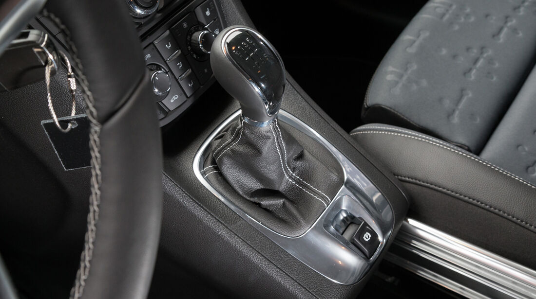 Opel Meriva 1.6 CDTi, Schalthebel, Schaltknauf