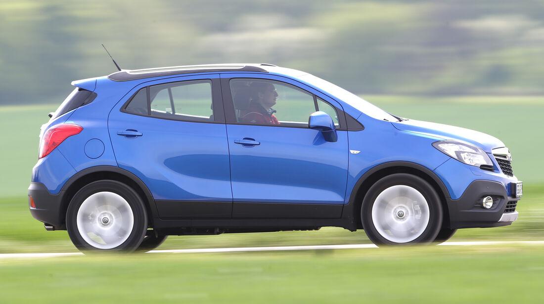Opel Mokka 1.4 Turbo, Seitenansicht
