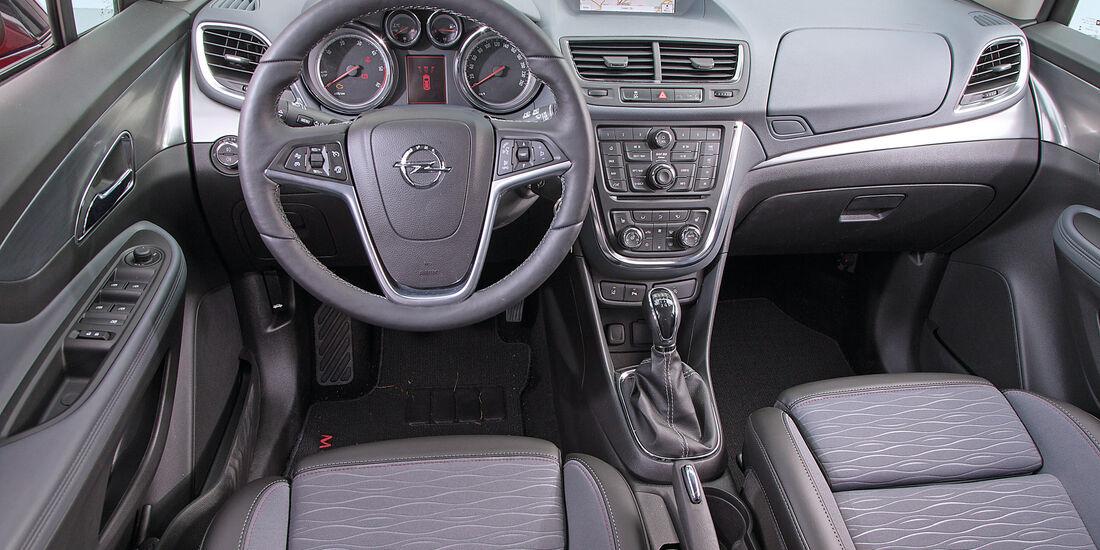 Opel Mokka 1.6 CDTI Ecoflex, Cockpit