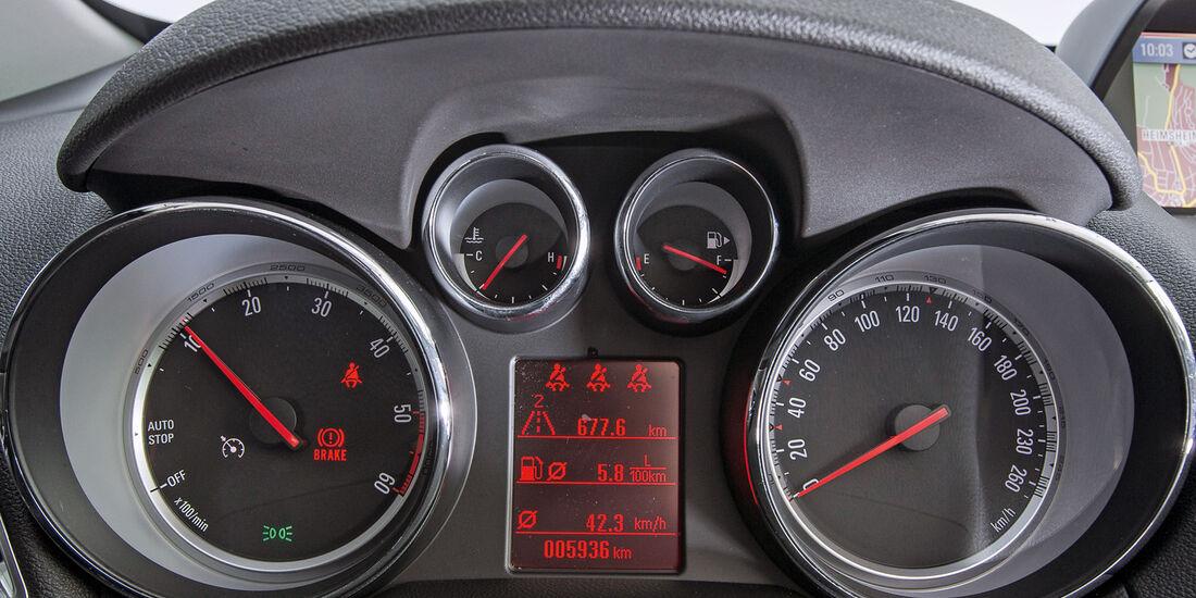 Opel Mokka 1.7 CDTi, Rundinstrumente