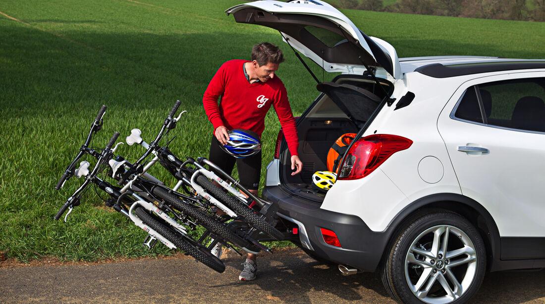 Opel Mokka, Fahrradständer