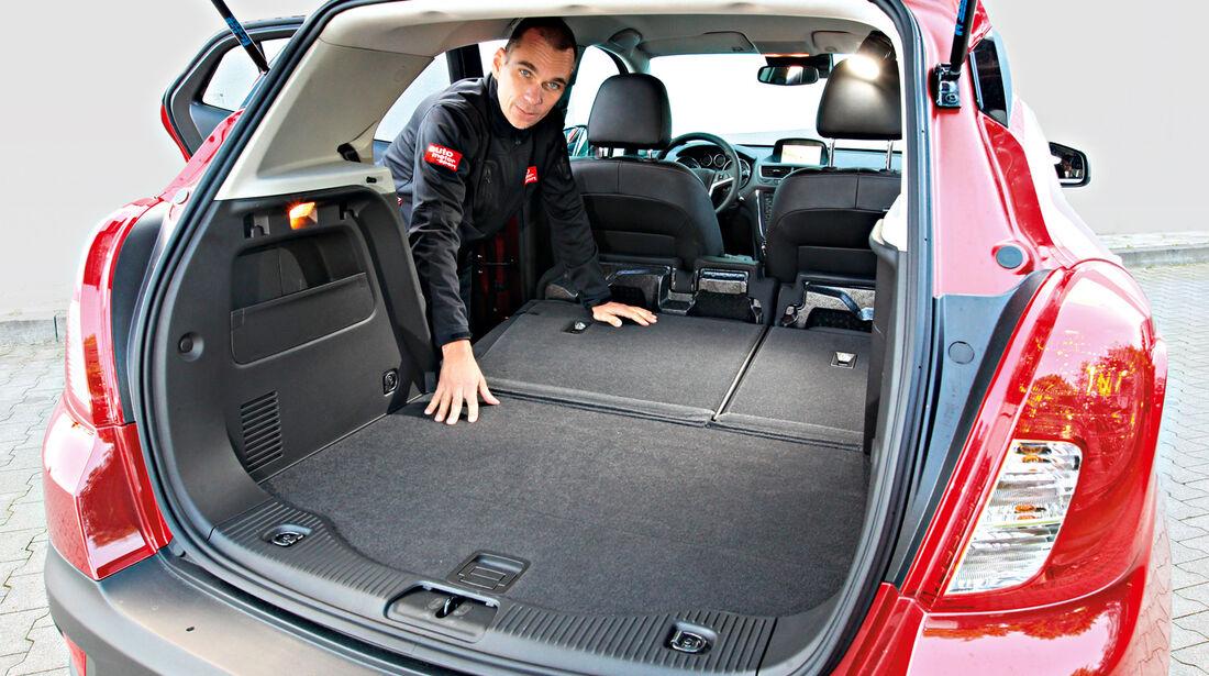 Opel Mokka, Kofferraum, Ladefläche