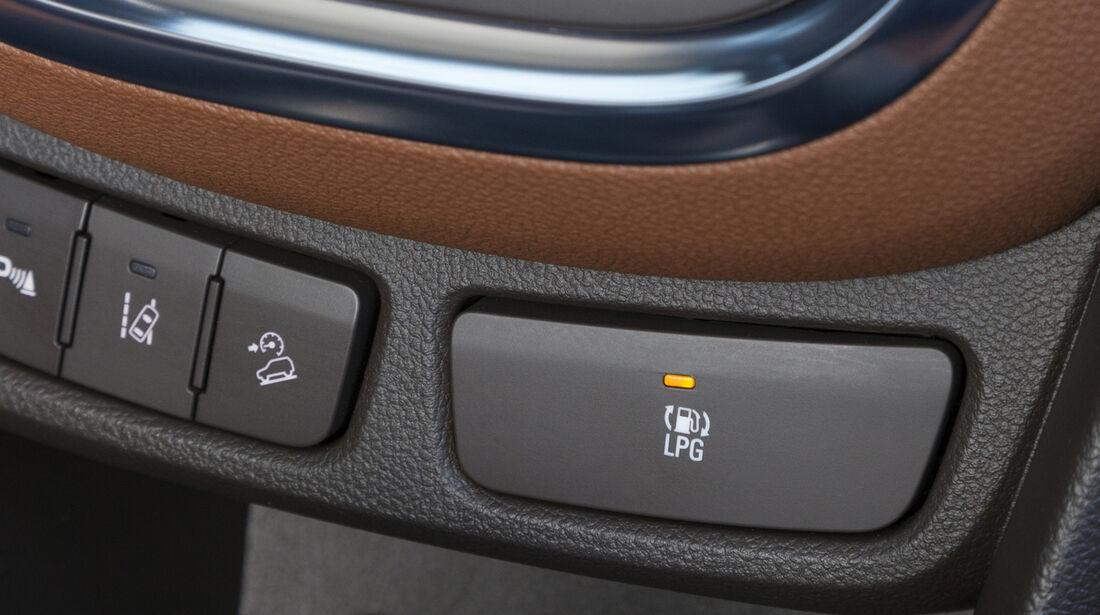 Opel Mokka LPG 1.4 LPG-Taste