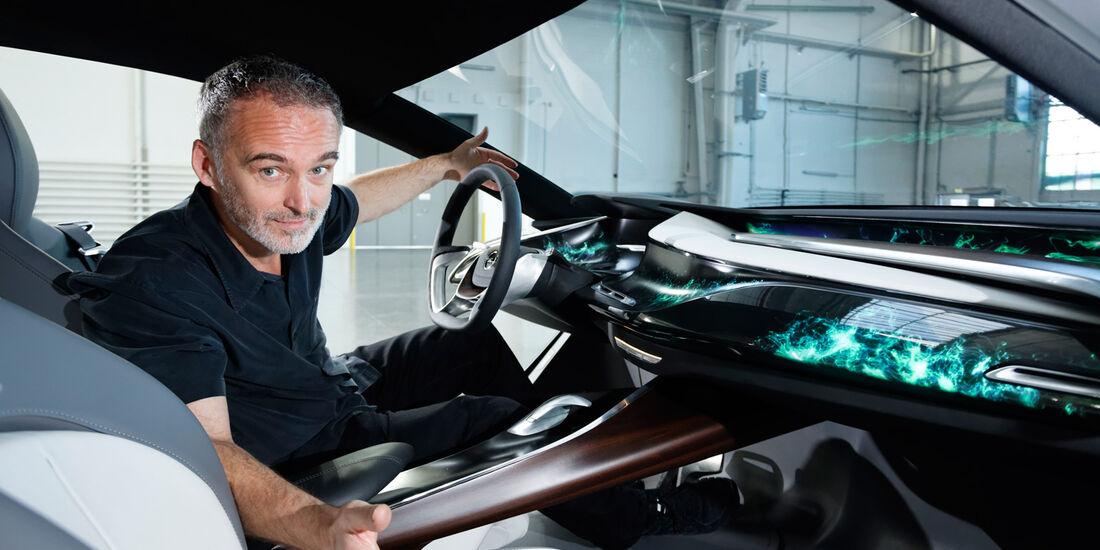 Opel Monza-Designer, Friedhelm Engler