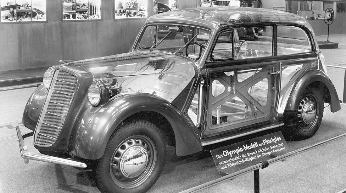 Opel Olympia, 1936