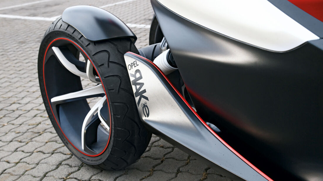 Opel RAK-e, Detail