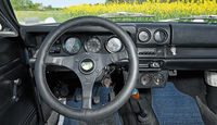 Opel Rallye Kadett 1100 SR, Lenkrad, Bedienelemente