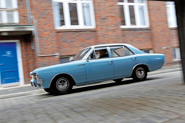 Opel Rekord C, Seitenansicht