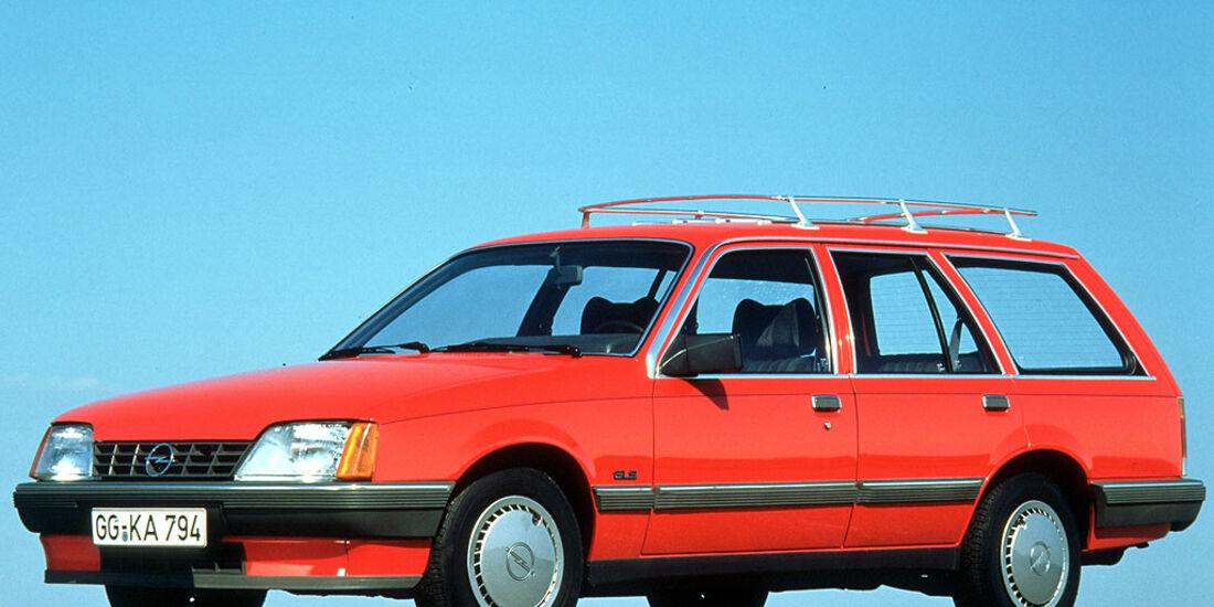 Opel Rekord E, Caravan, GLS, 1982-1986