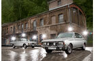 Opel Rekord Sprint, Ford 17M RS, Frontansicht