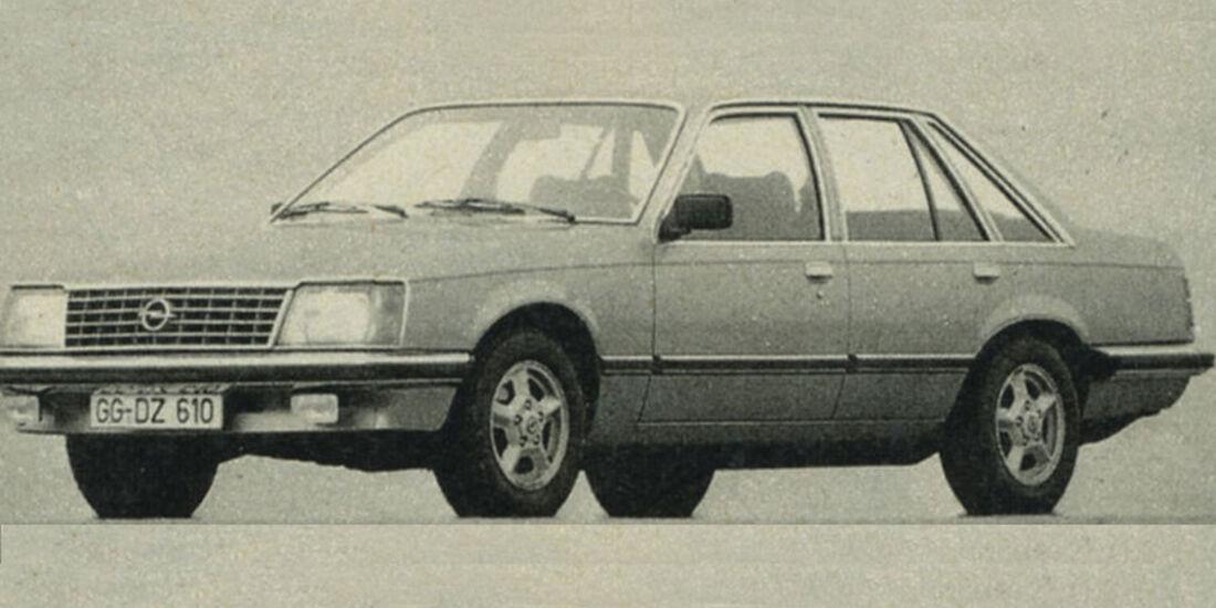Opel, Senator, IAA 1981