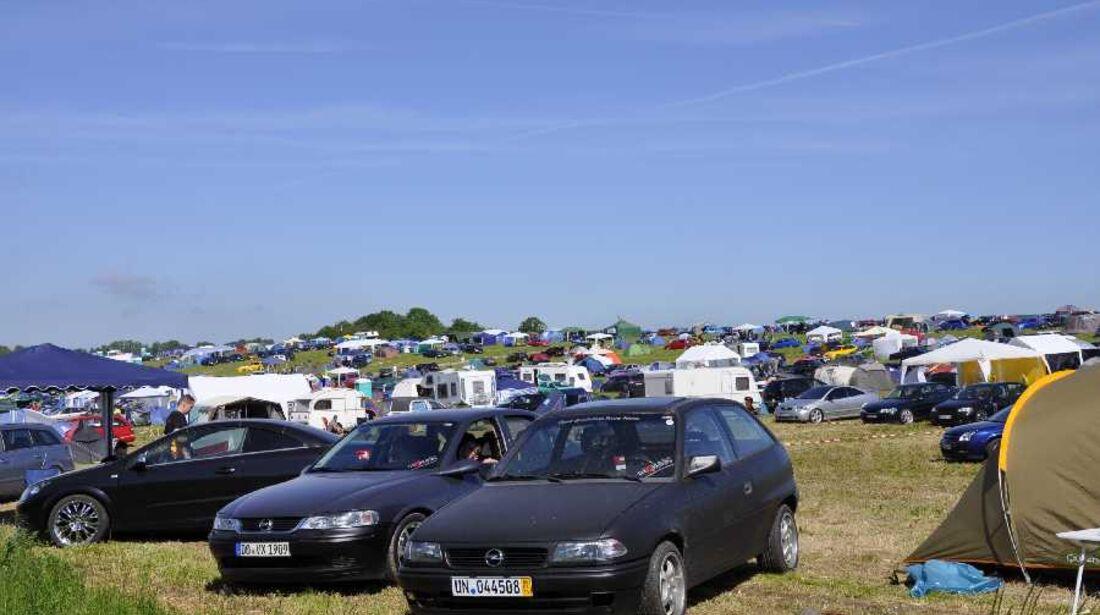 Opel Treffen Oschersleben Camping